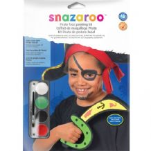 Snazaroo Pirate Face Painting Kit 1 PKG